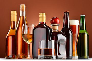image of a variety of alcoholic beverages
