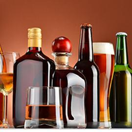 photo of bottles of various kinds of alcohol