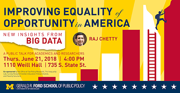 Improving Equality of Opportunity on America: New Insights from Big Data