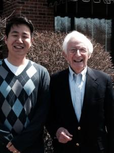 photo of Sun Tae Kim and Bob Kahn