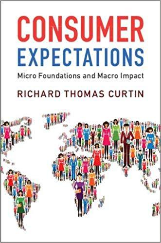 Consumer Expectations: Micro Foundations and Macro Impact book cover
