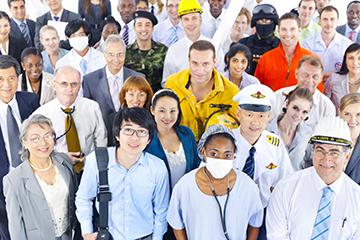image of diverse workers