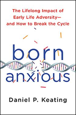 Book cover for Born Anxious