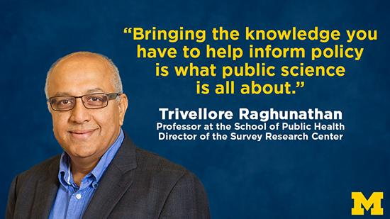 """Bringing the knowledge you have to help inform policy is what public science is all about."""